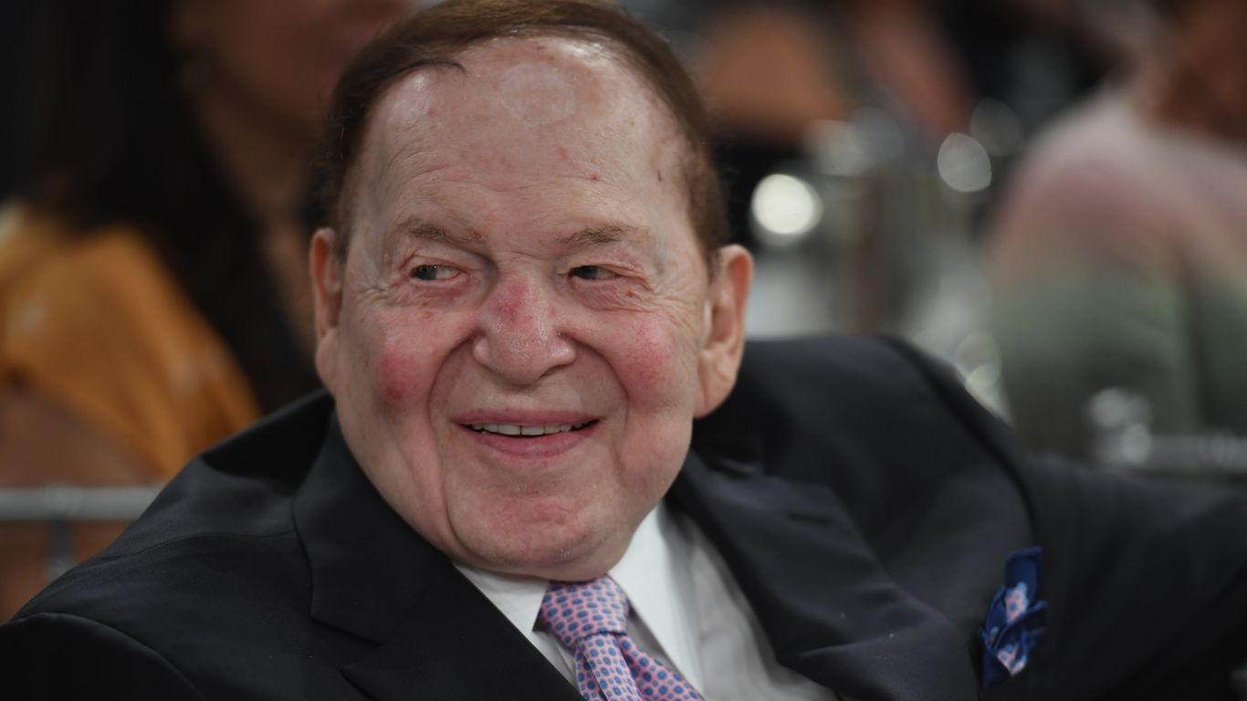 GOP megadonor Sheldon Adelson dies at 87 thumbnail