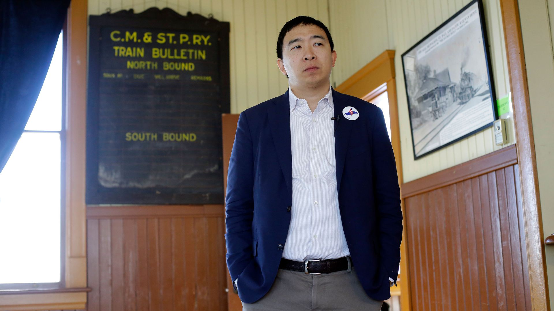 Not Up For Debate Science Behind >> Andrew Yang Qualifies For First Dnc Debate With 65 000 Unique Donors