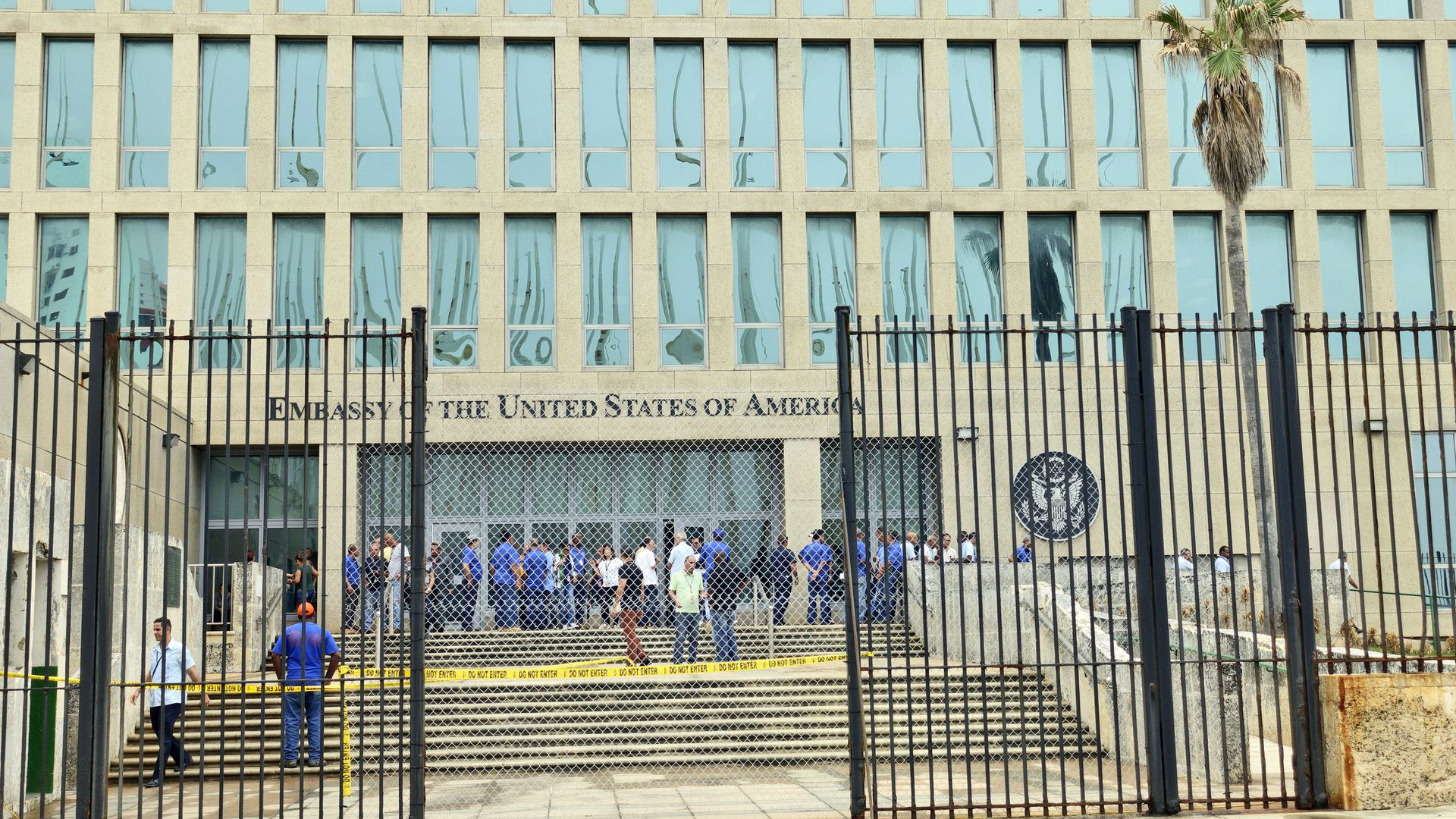 U.S. Embassy in Cuba.