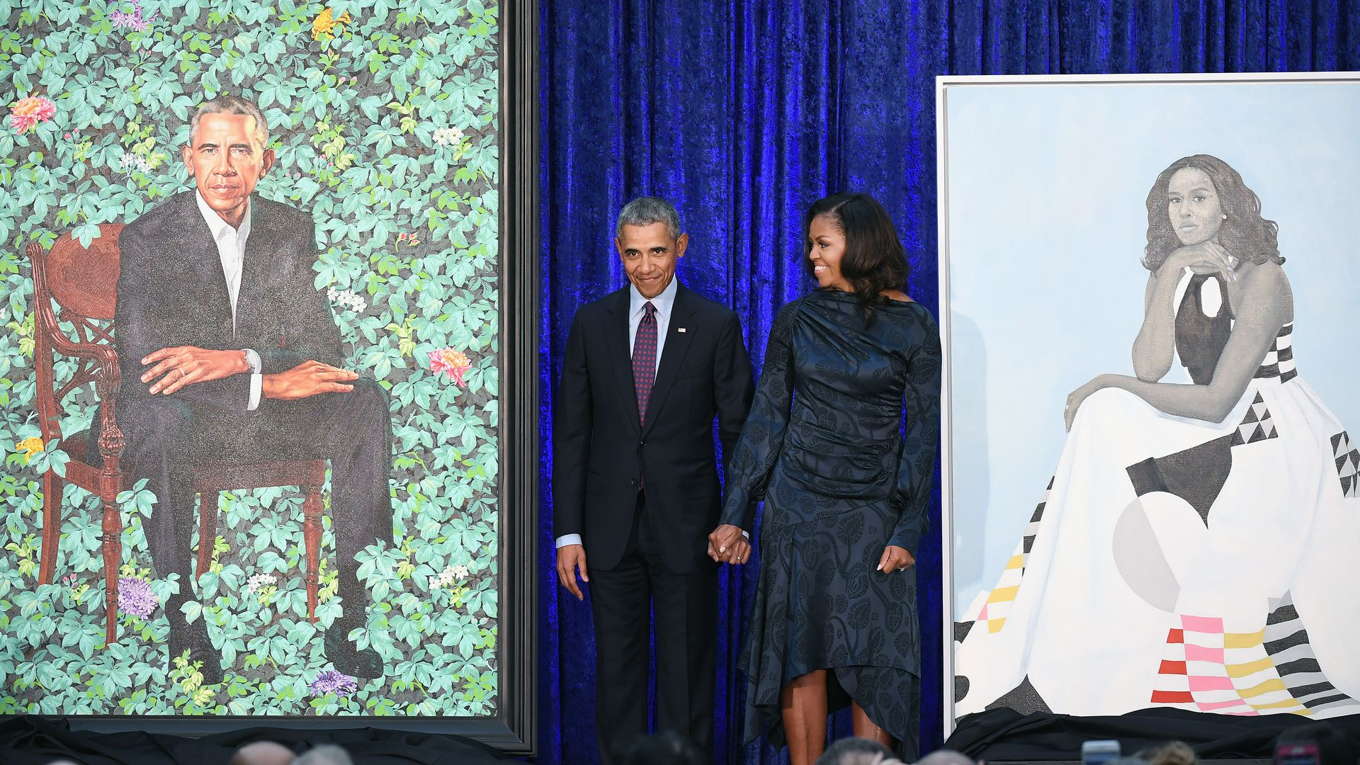 Portraits of Obamas to begin 5-city USA tour in Chicago