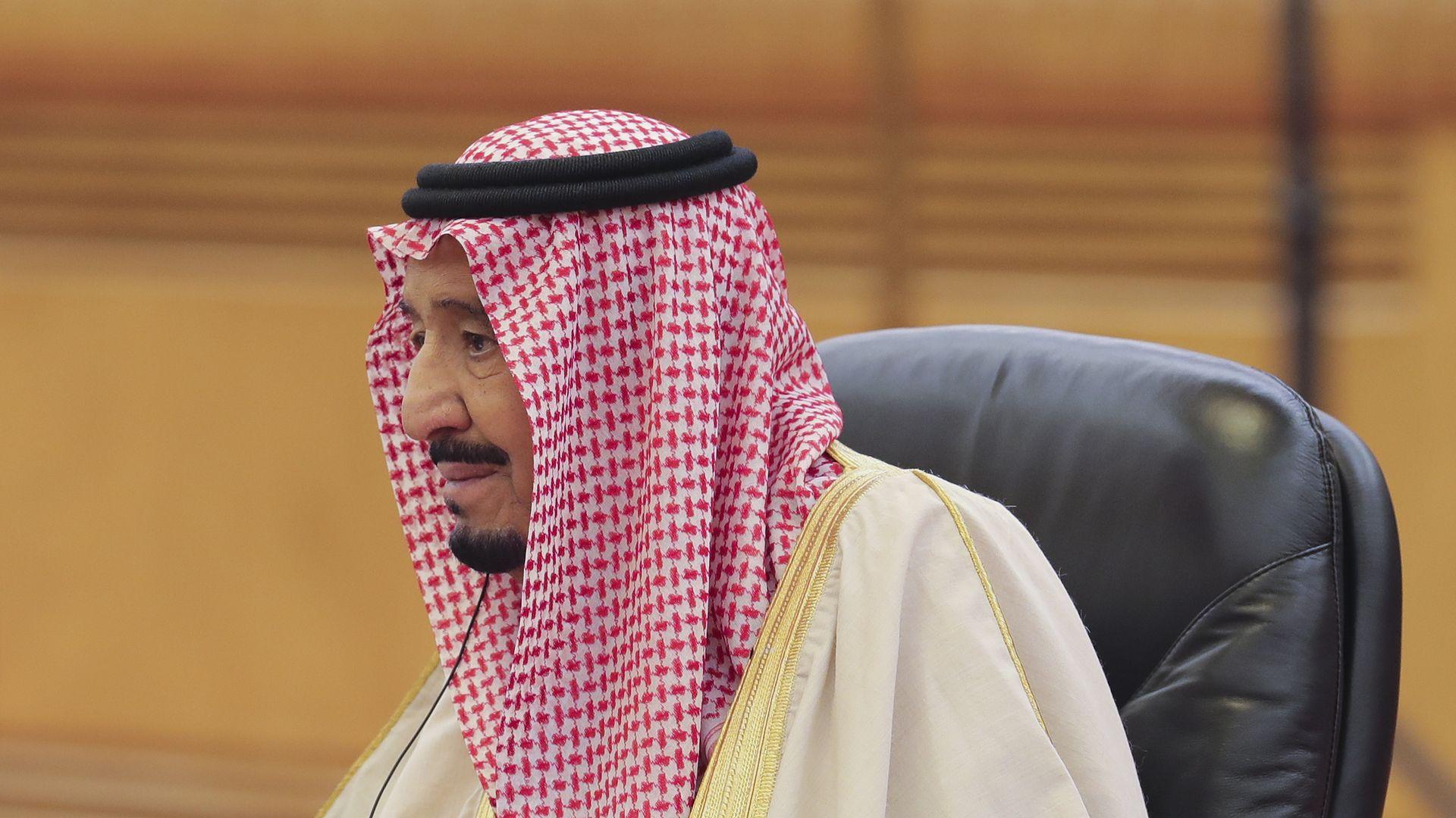 Saudi Arabia's King Salman bin Abdulaziz Al Saud.