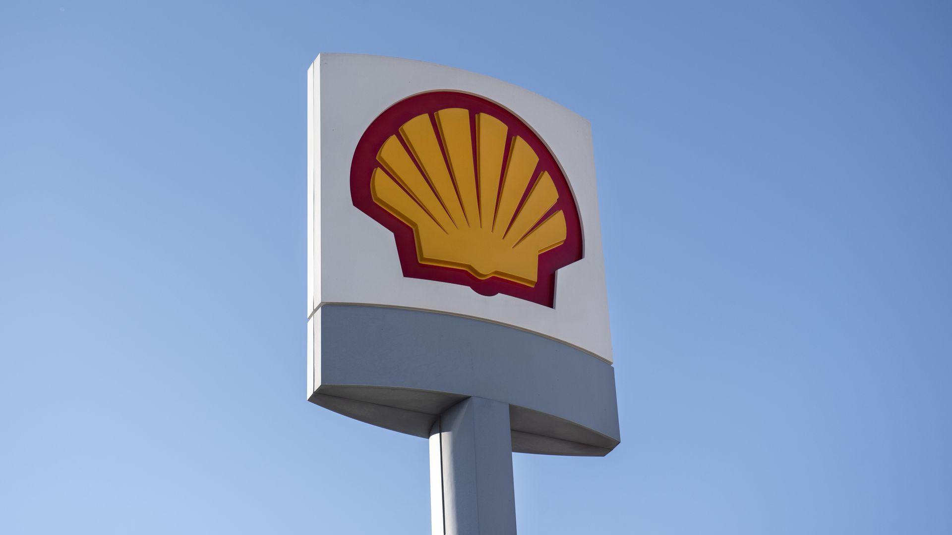 Photo of Shell logo