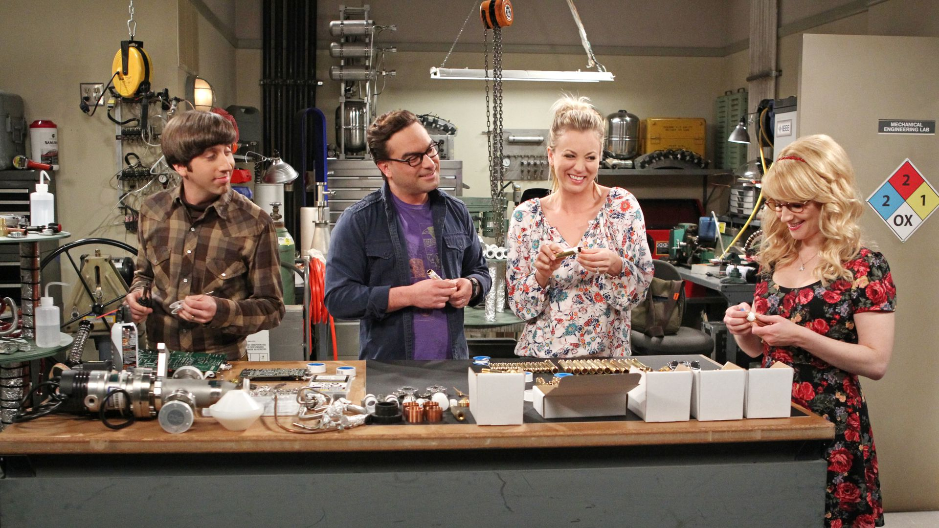 "Screen grab from ""The Solder Excursion Diversion"" episode from The Big Bang Theory"