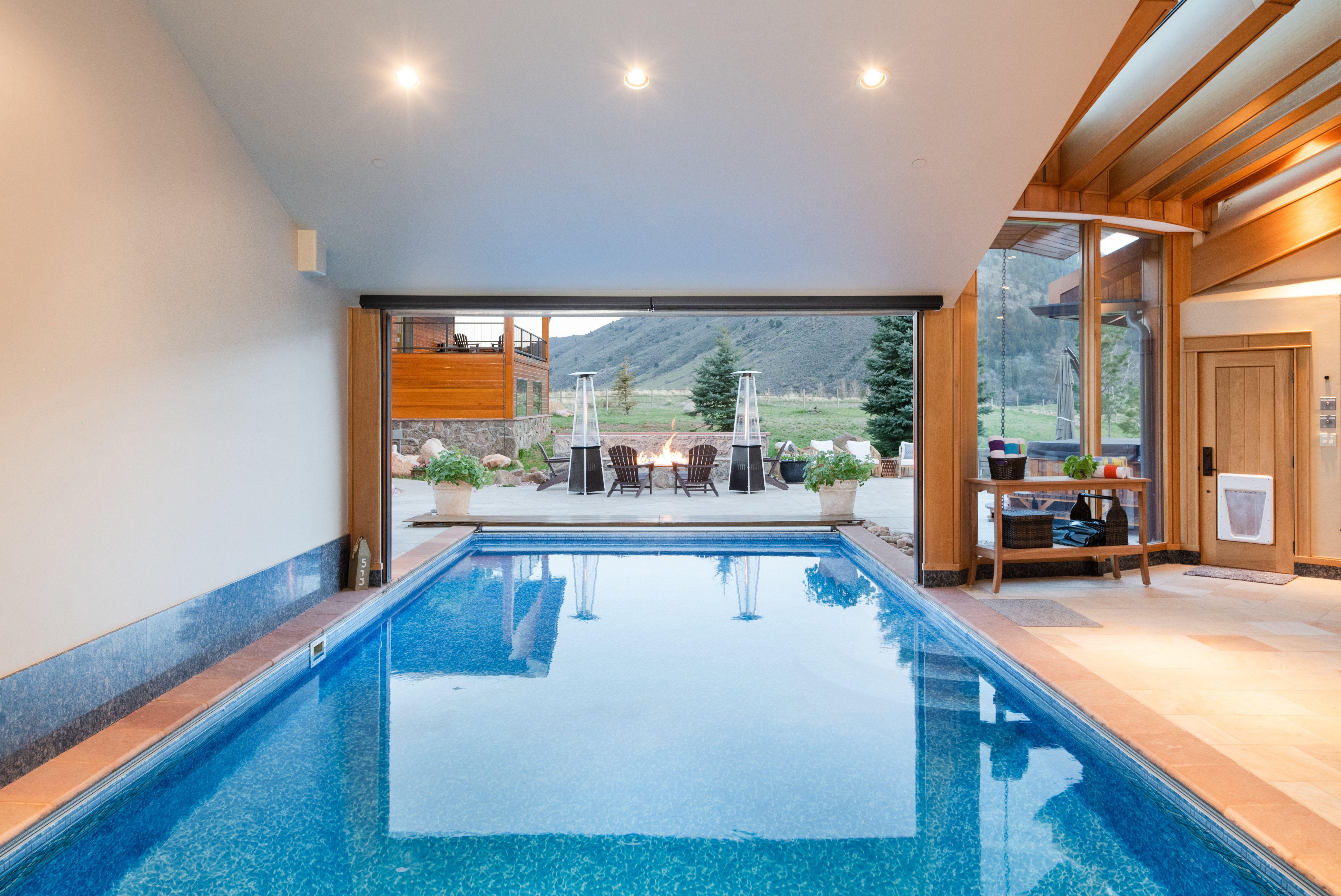 Colorado Mountain house on 35 acres asks $7M pool