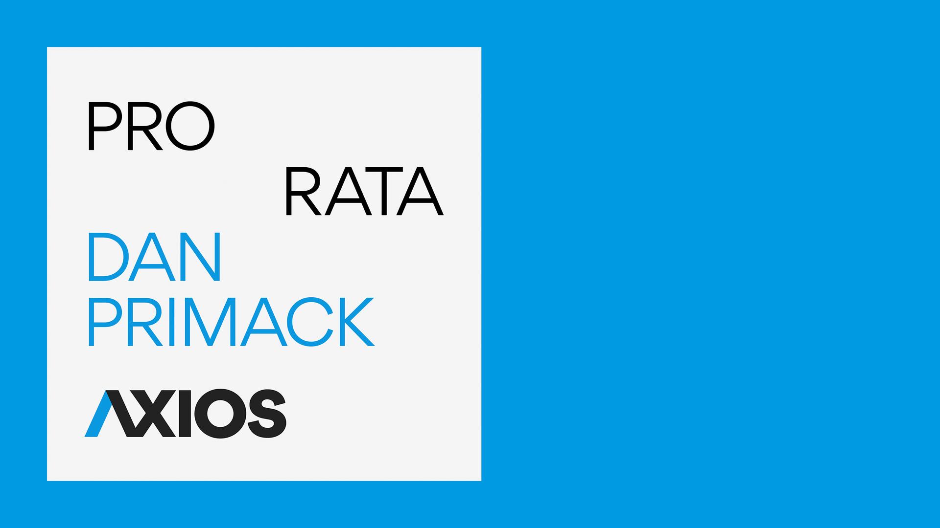 Pro Rata podcast logo