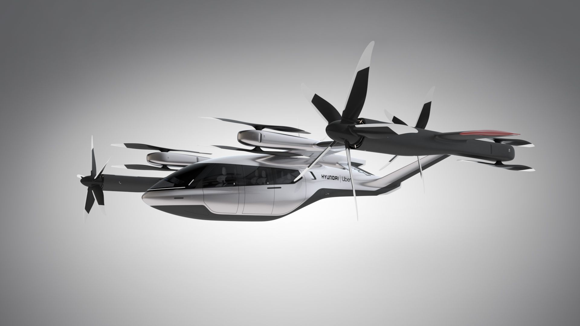 Image of Hyundai flying taxi concept