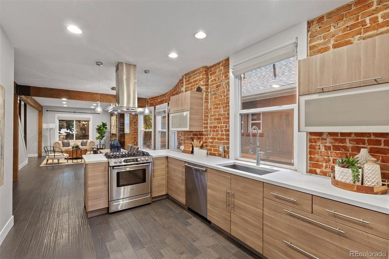 3349 Zuni St.  kitchen