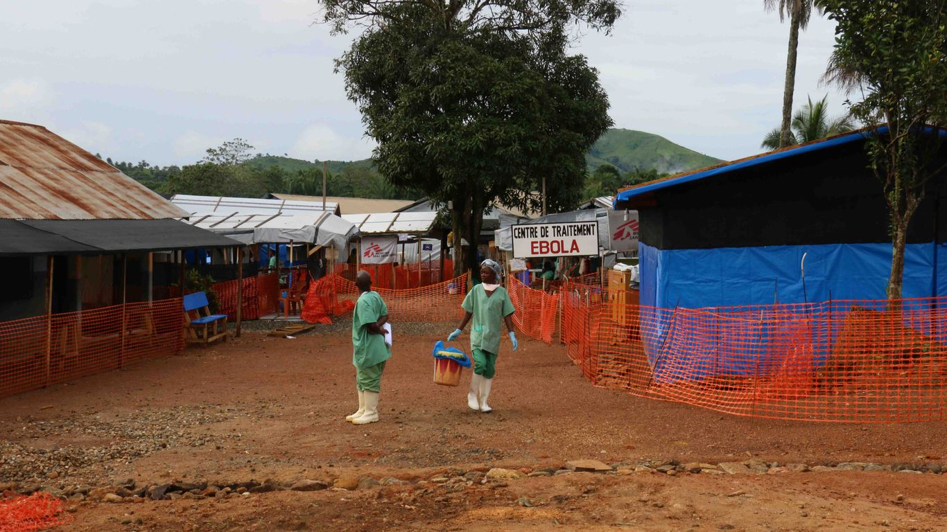 Guinea declares Ebola epidemic as country continues to grapple with coronavirus cases thumbnail