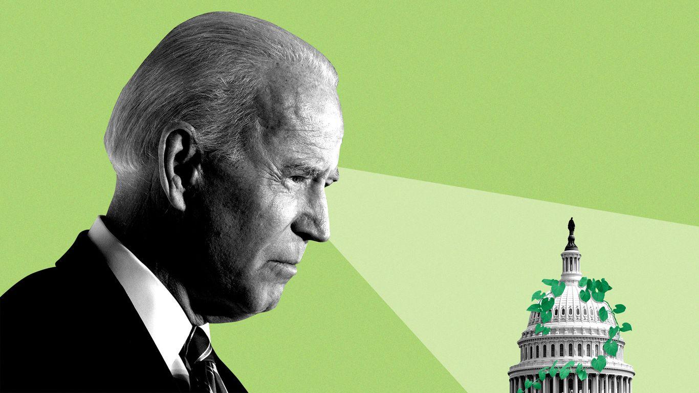 Biden teases political path for climate plans thumbnail