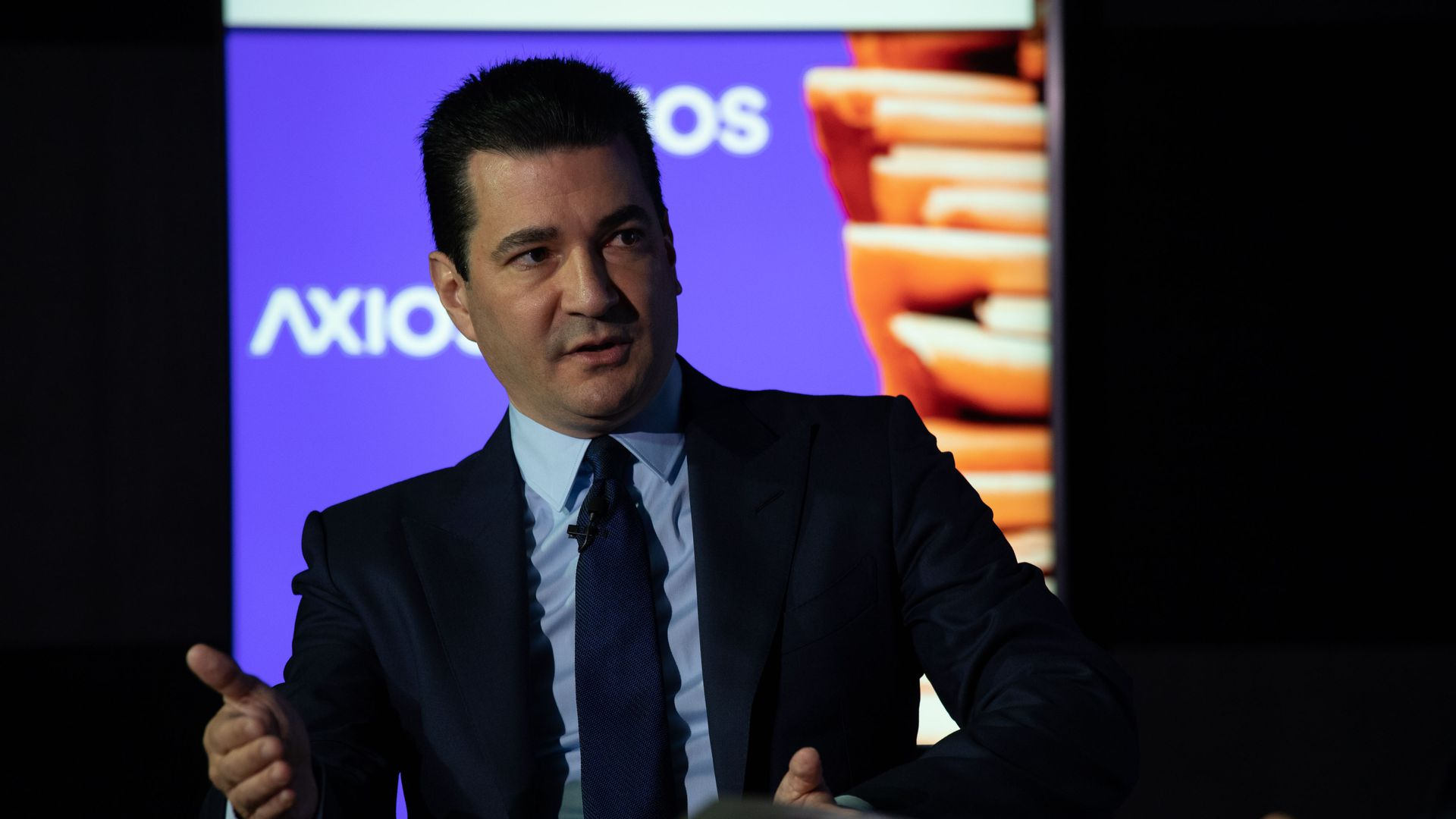 FDA Commissioner Scott Gottlieb speaks at an Axios event on vaping