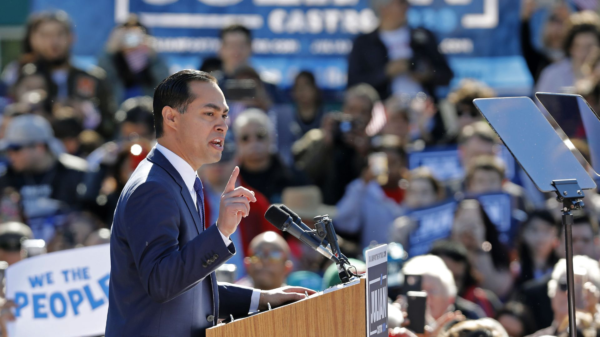 Julián Castro says he hasn't yet reached 65,000 donors, which is one of the criteria used to qualify for the first Democratic debates.