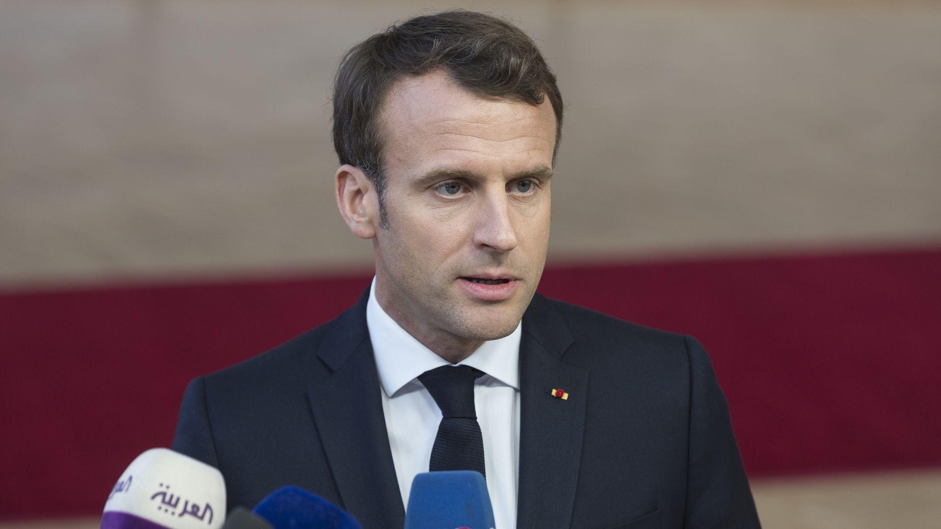 Emmanuel Macron wants cathedral rebuilt in 5 years