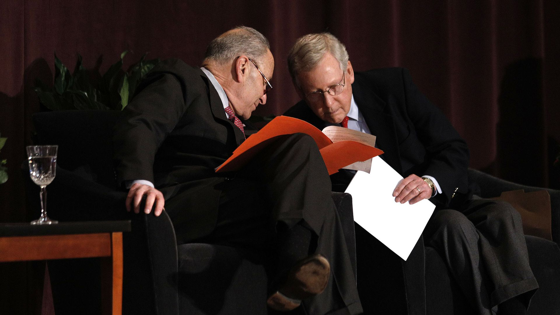 Sens. Chuck Schumer and Mitch McConnell
