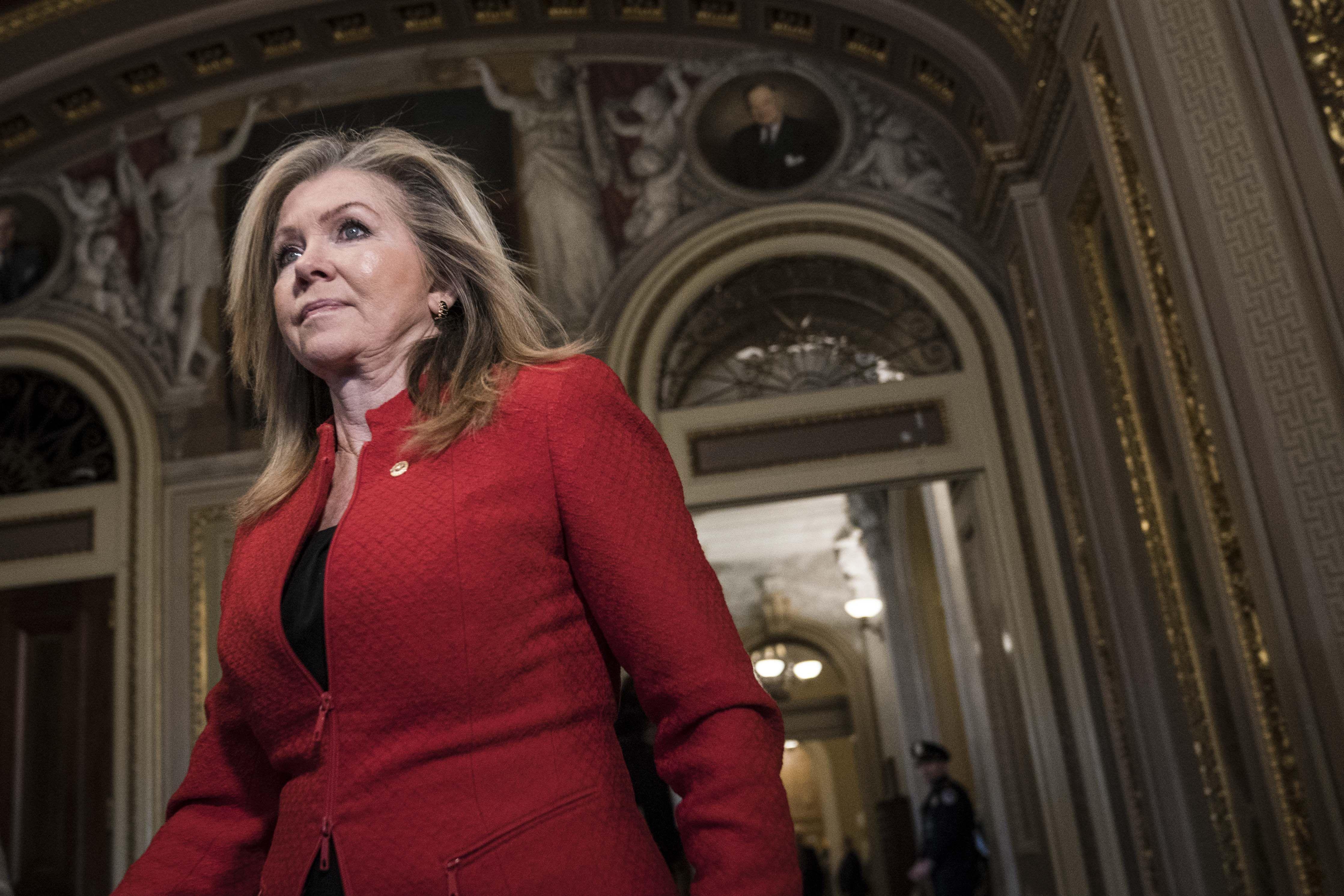GOP Sen. Marsha Blackburn blocks three election security bills - Axios