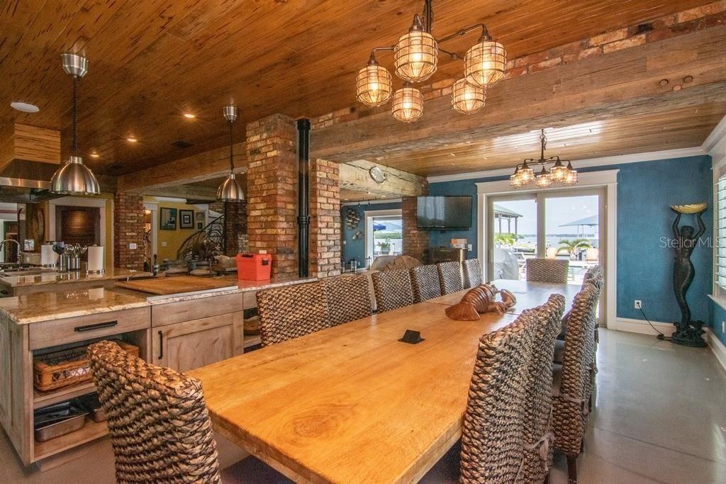941 Bay Esplanade dining table