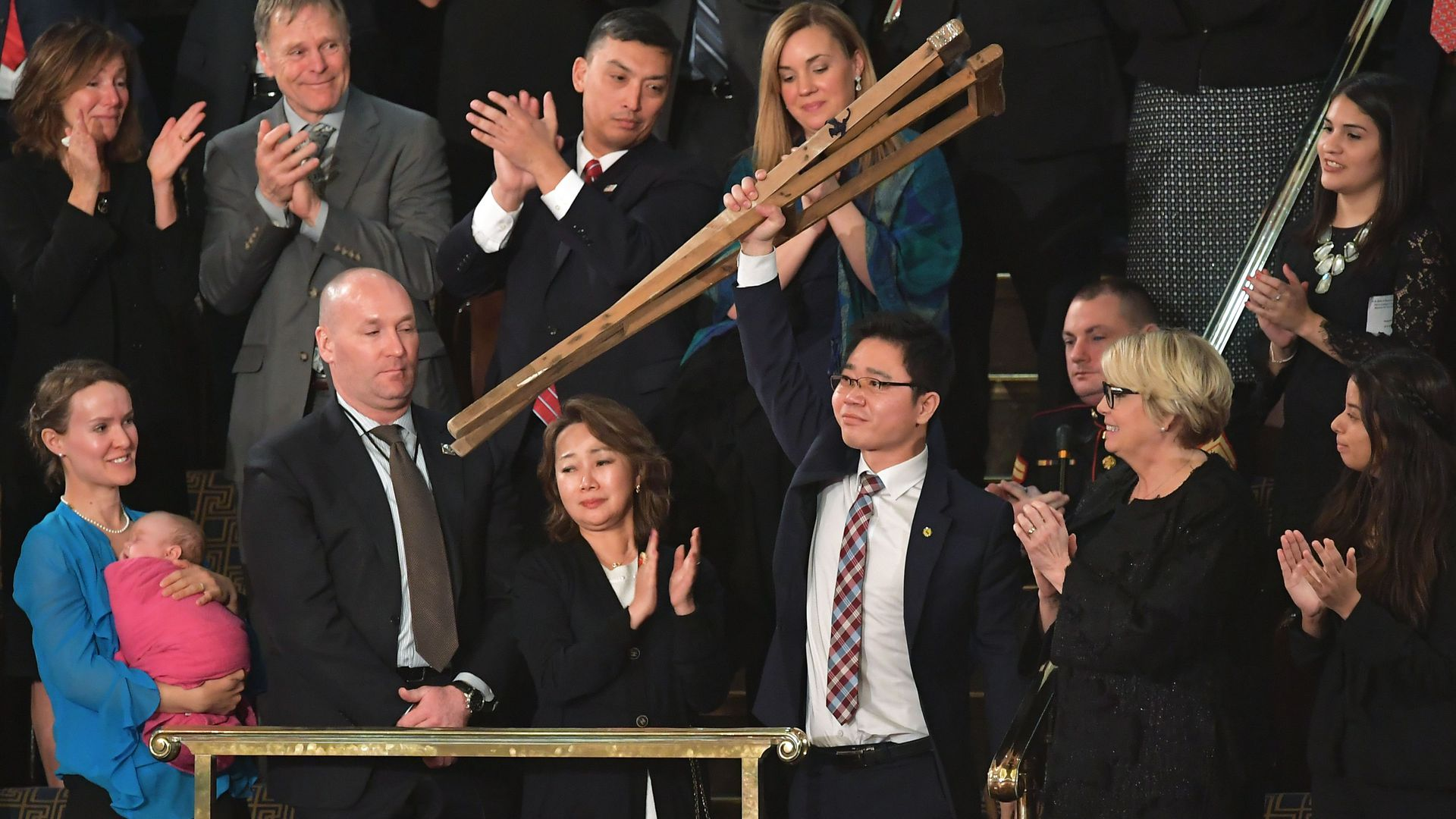 Ji Seong Ho at the State of the Union