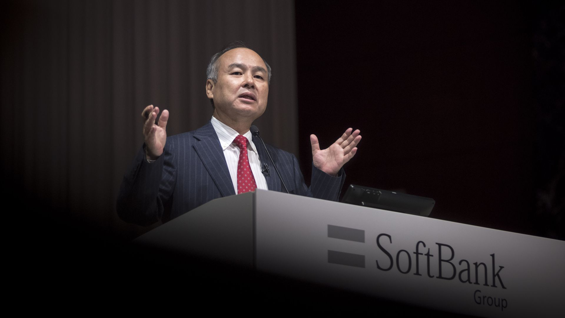 SoftBank founder Masa Son