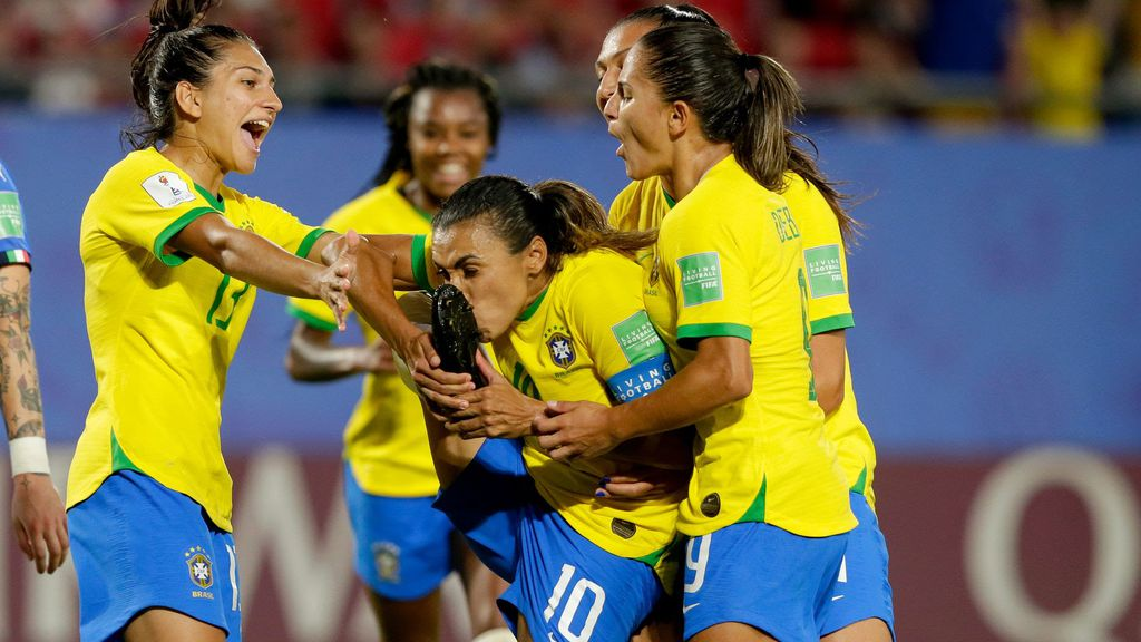 Brazil secures place in Women's World Cup knockout round with Marta's historic goal