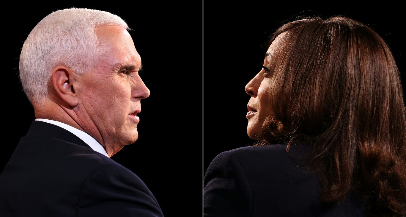 The Pence-Harris debate was a big hit on the right thumbnail