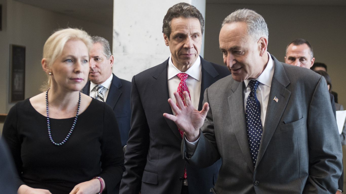 Sens. Schumer and Gillibrand call on Cuomo to resign thumbnail