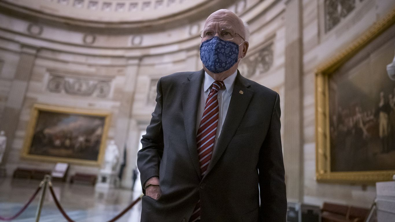 Sen. Leahy back home after being hospitalized