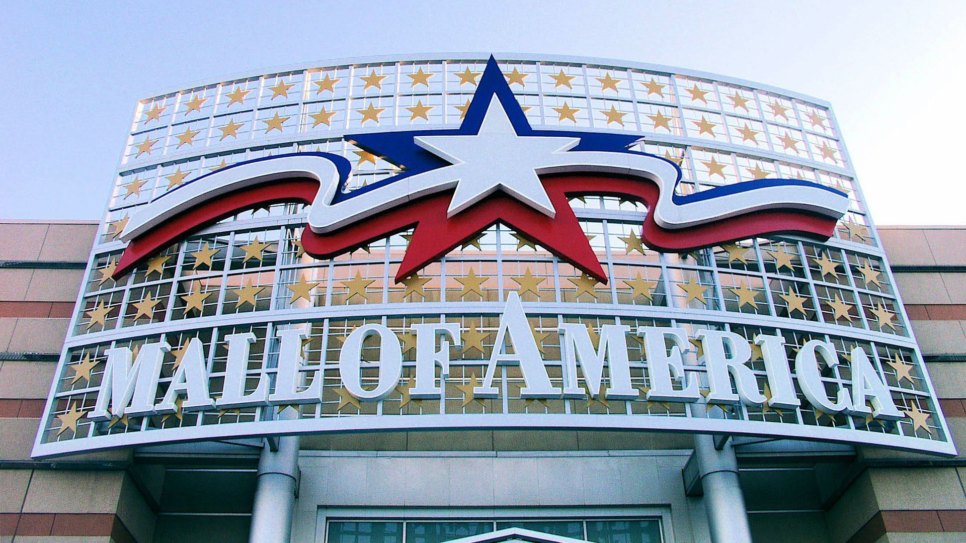 Sign that says Mall of America