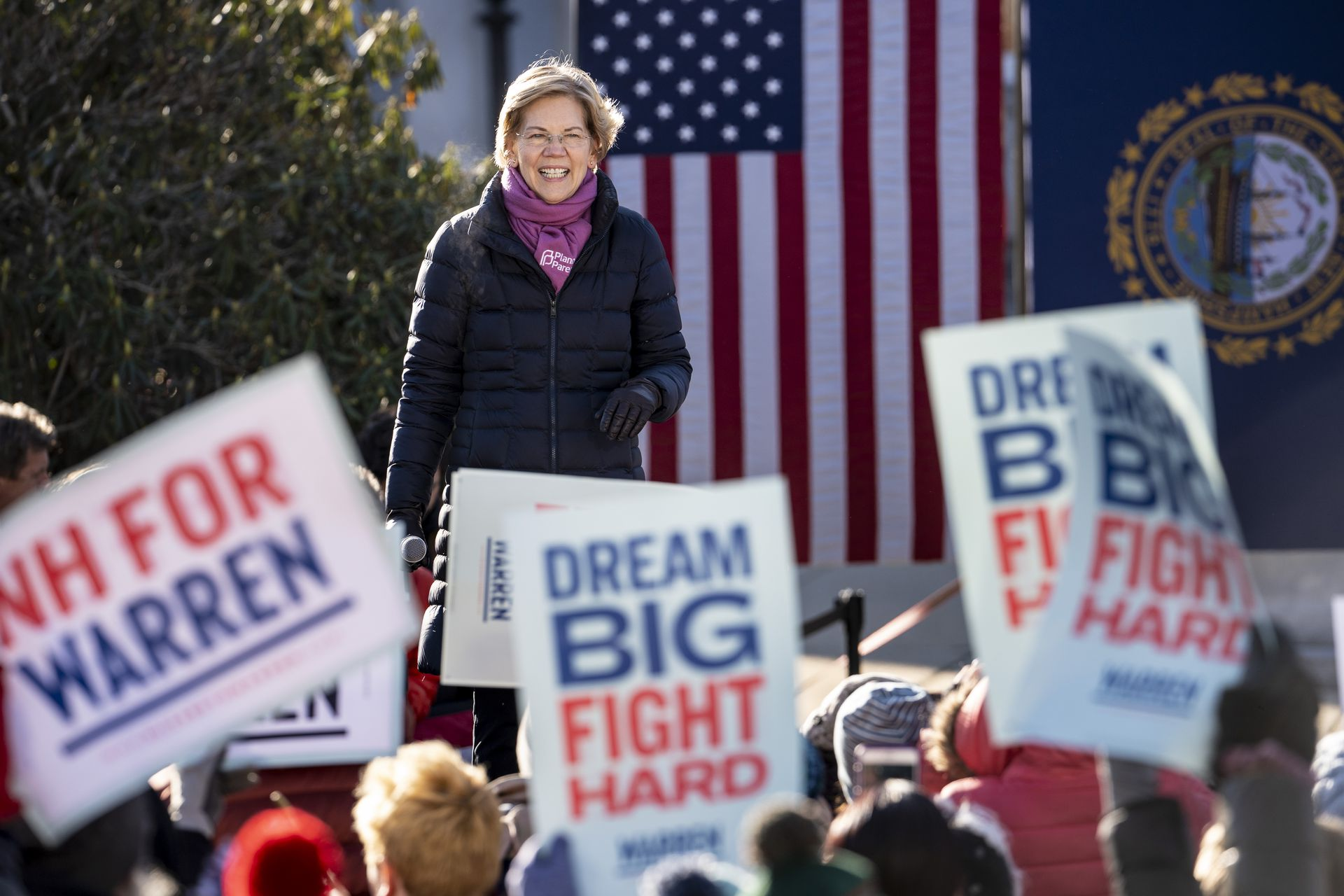 Warren becomes fastest first-time presidential candidate to hit 3 million donations