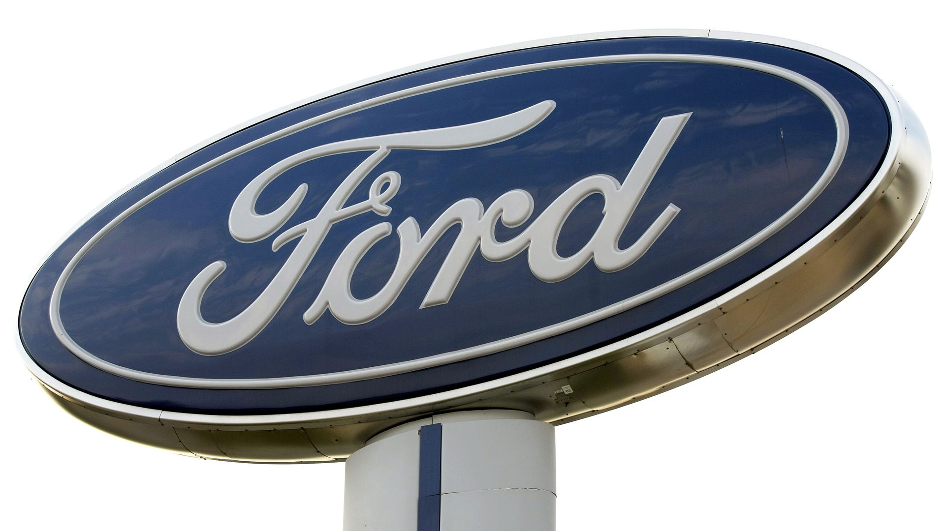 A Ford logo.