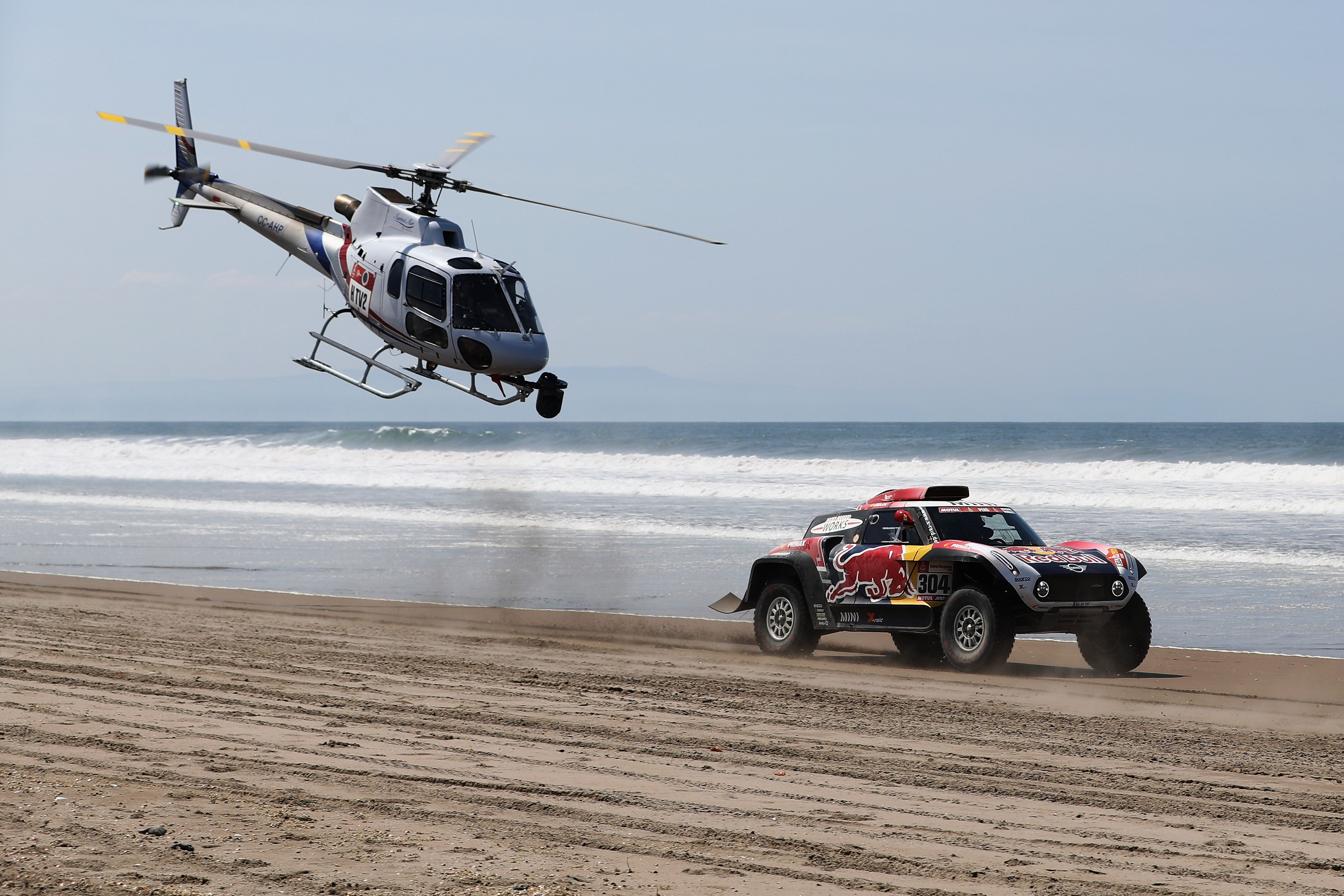 Stage 5 of the Dakar Rally