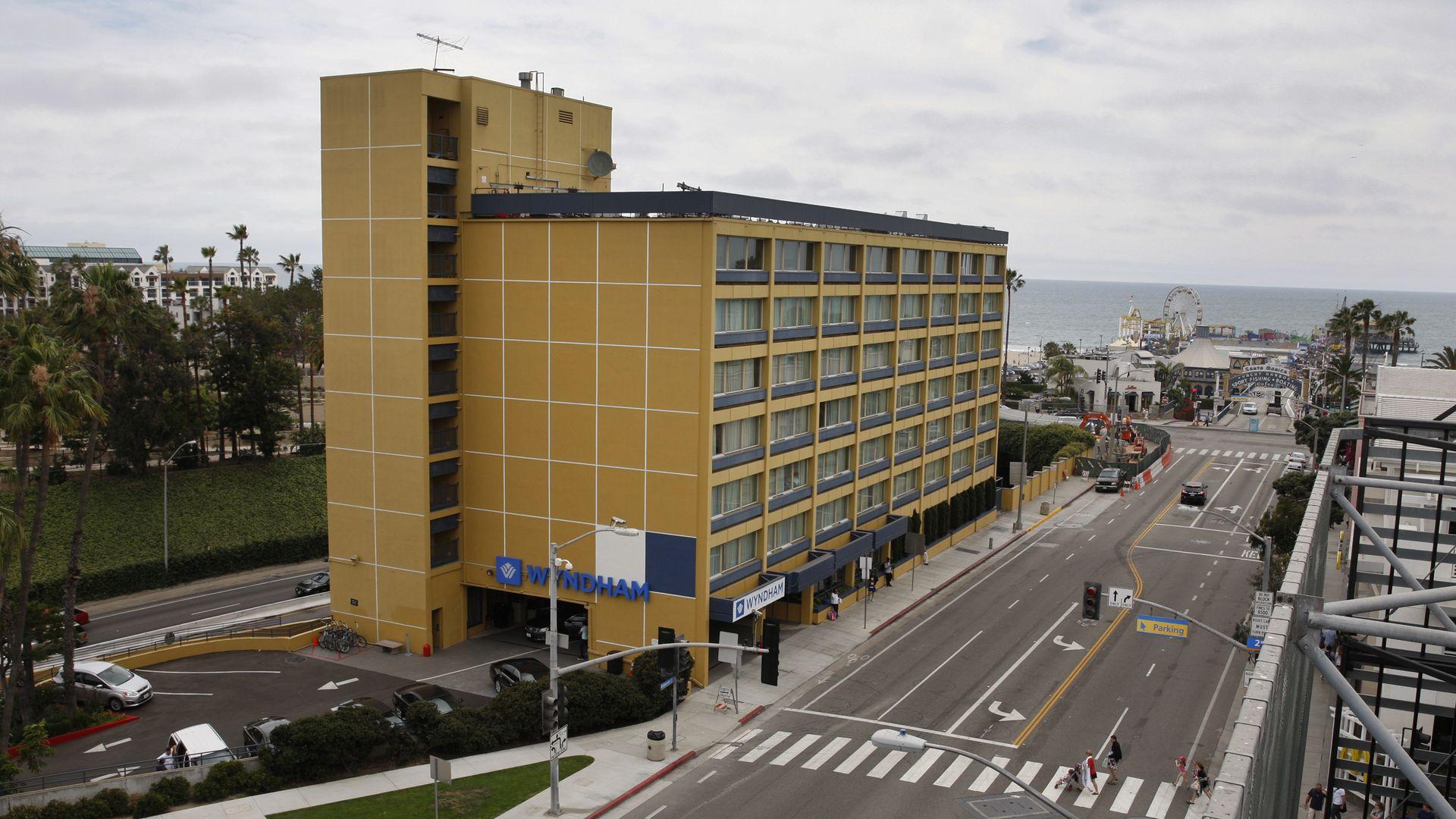 A Wyndham hotel.