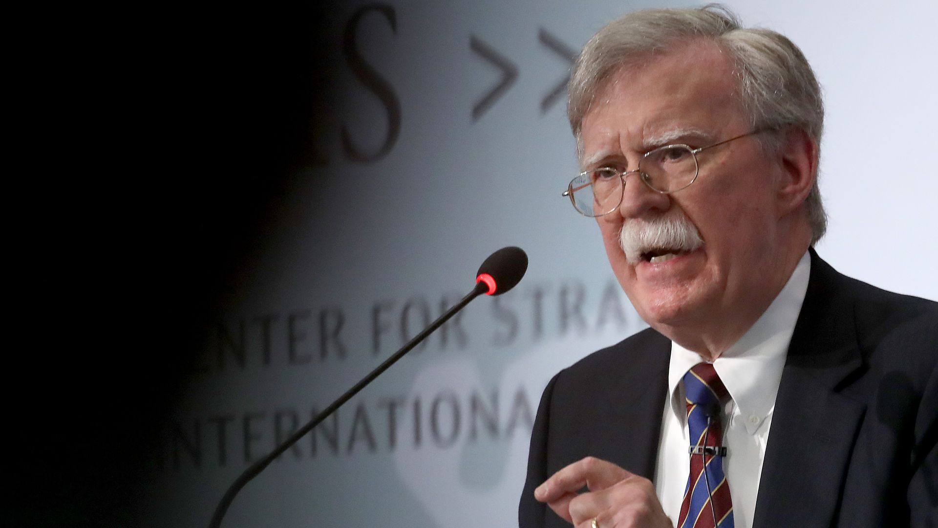 John Bolton lays into Trump's foreign policy approach in private speech