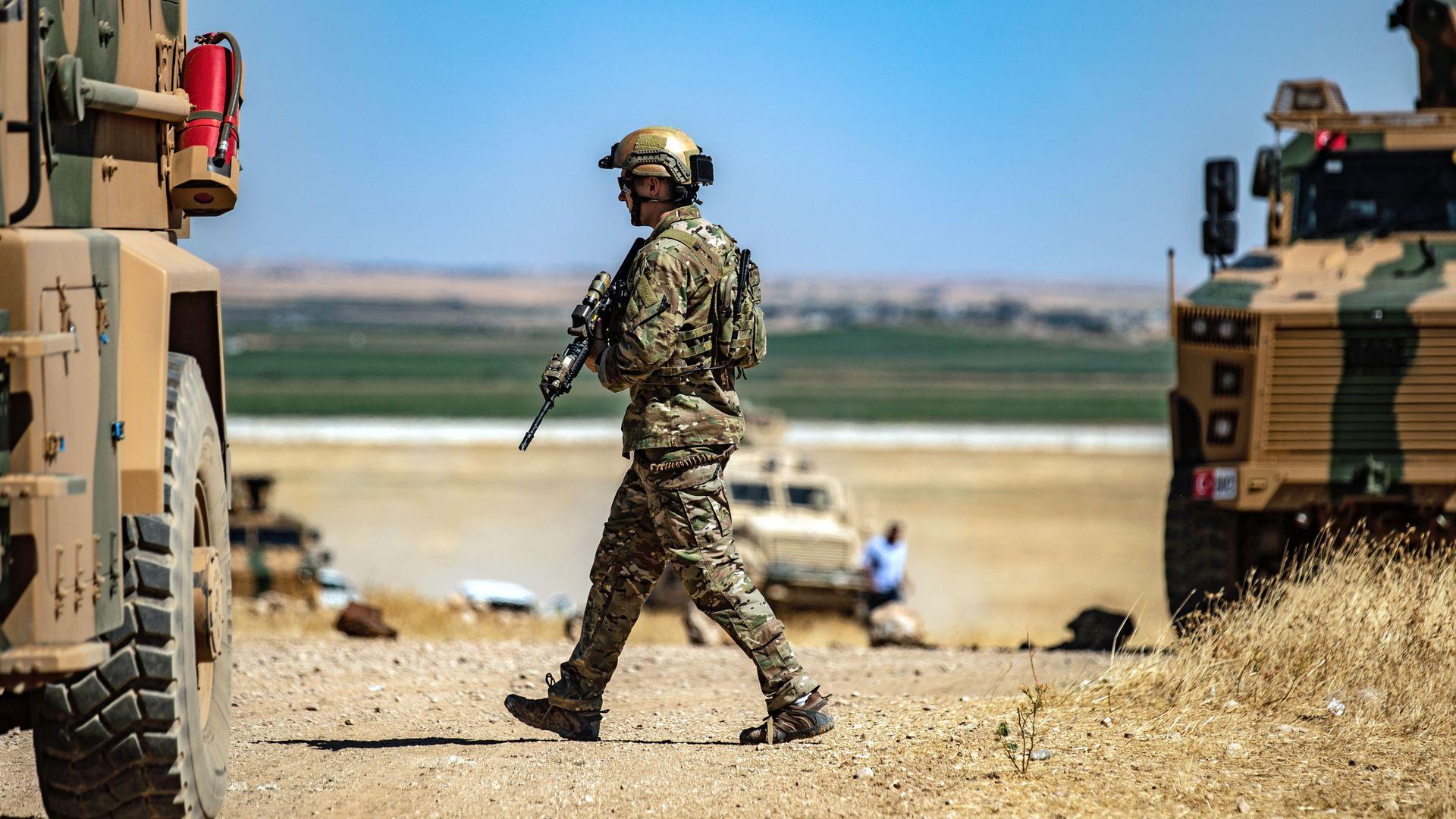 U.S. troop in Syria