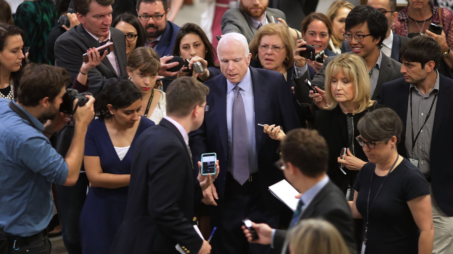 What they're saying: Reactions to McCain's passing