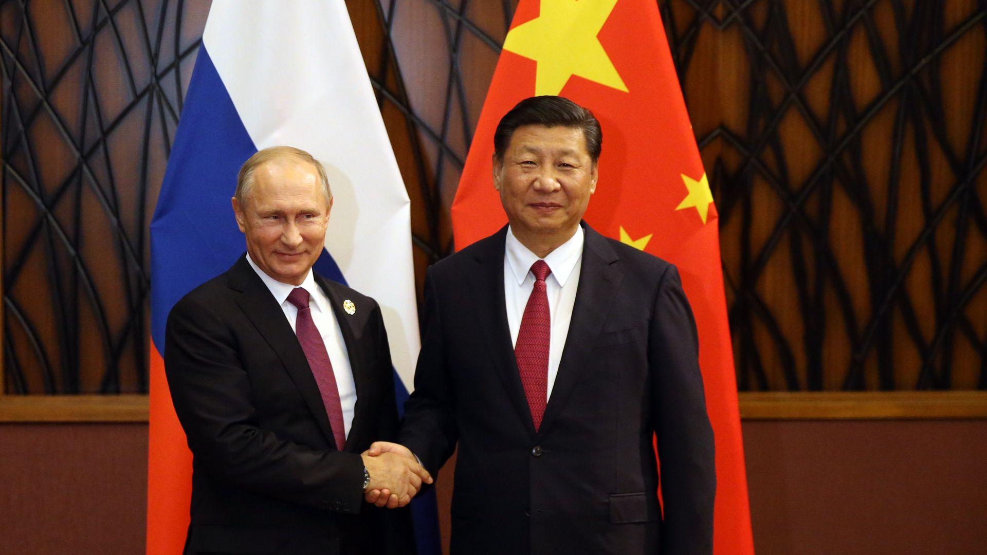 Xi and Putin.