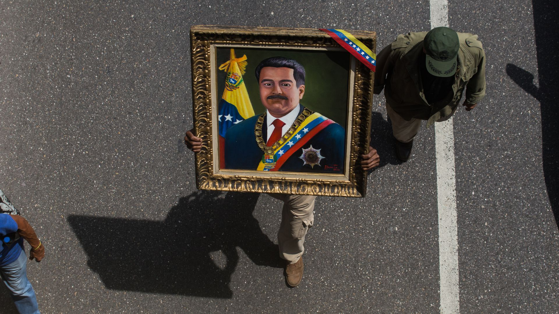 Portrait of Nicolas Maduro