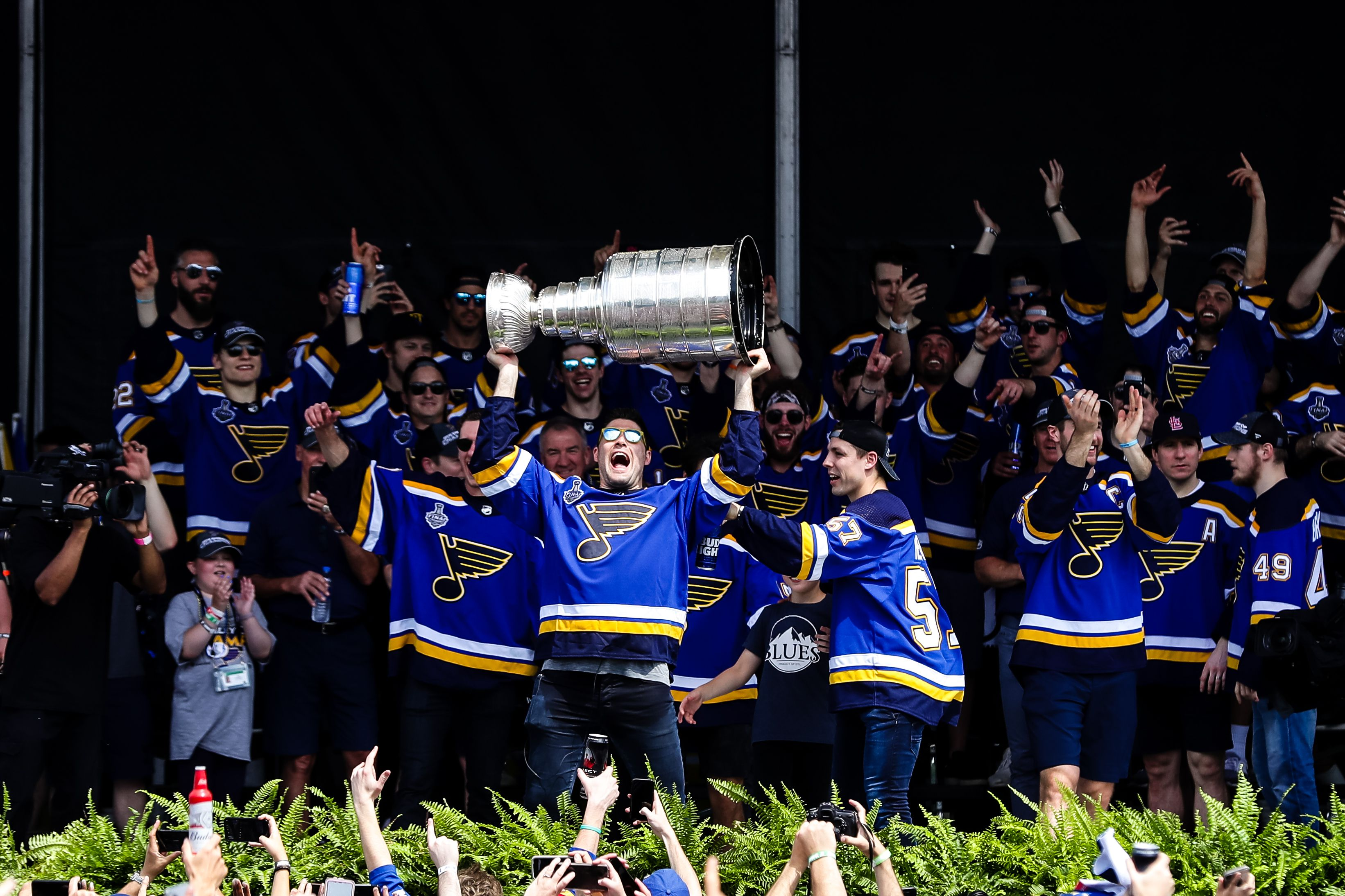 Blues parade