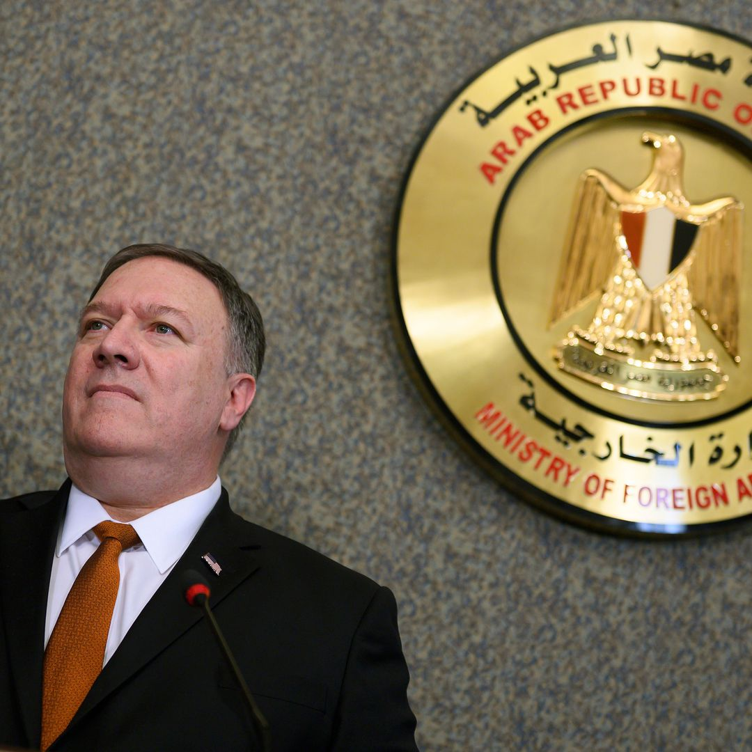 c9ee2b235f1d4d In Cairo speech, Pompeo tries to straighten out Trump s Mideast policy -  Secretary of State Mike Pompeo did his best on Thursday to paper over the  ...