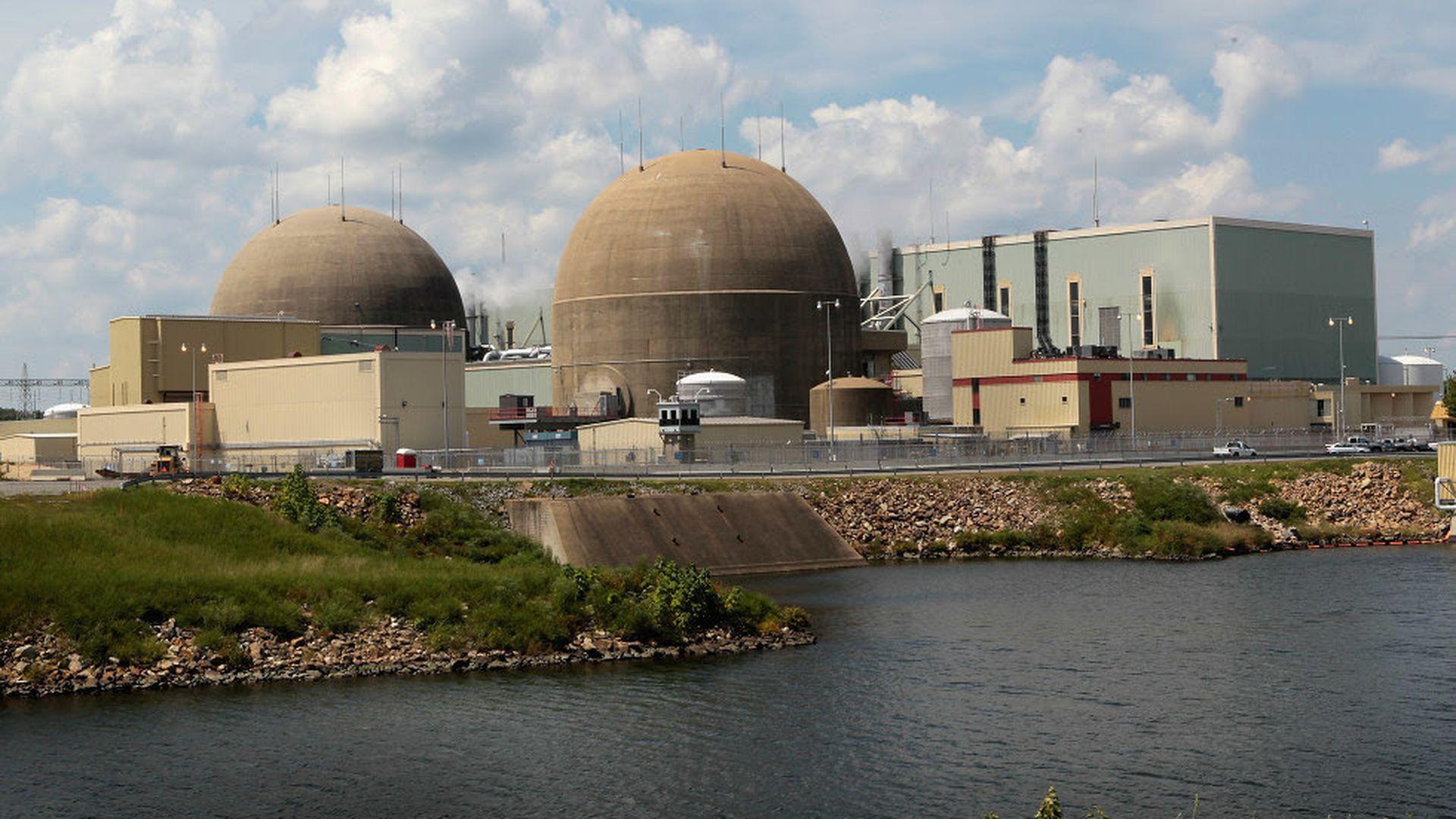Dominion Energy is acquiring SCANA - Axios