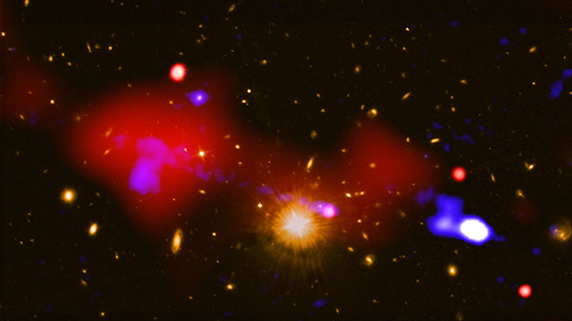 A newly released photo from NASA's Chandra X-ray Observatory