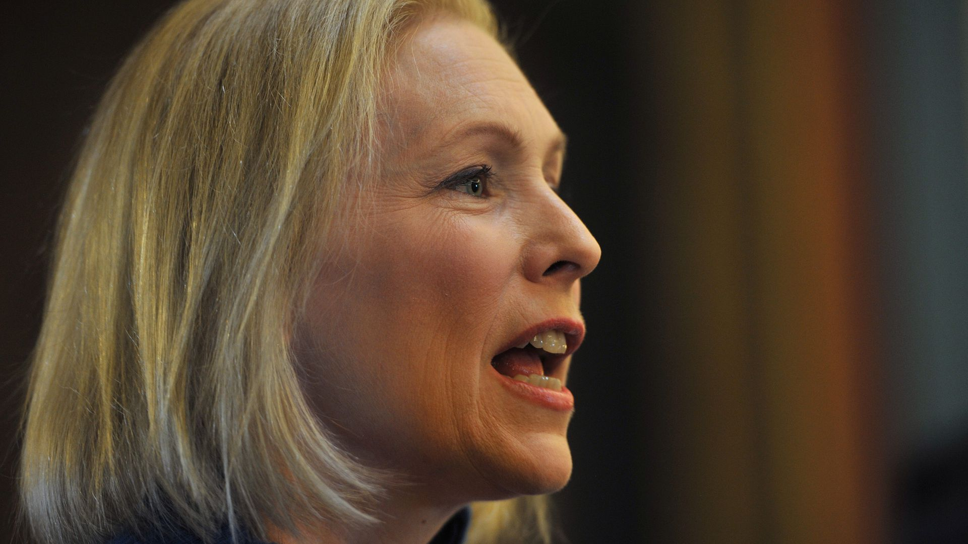 Close up of kirsetn gillibrand