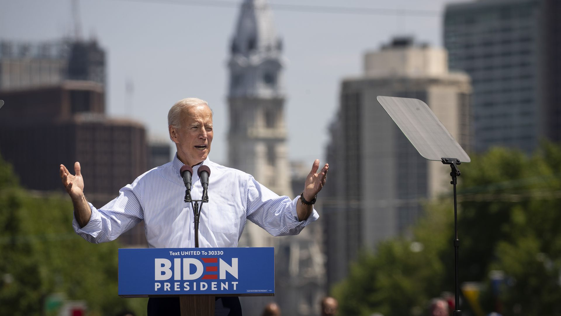 Former Vice President Joe Biden rolls out 2020 education policy