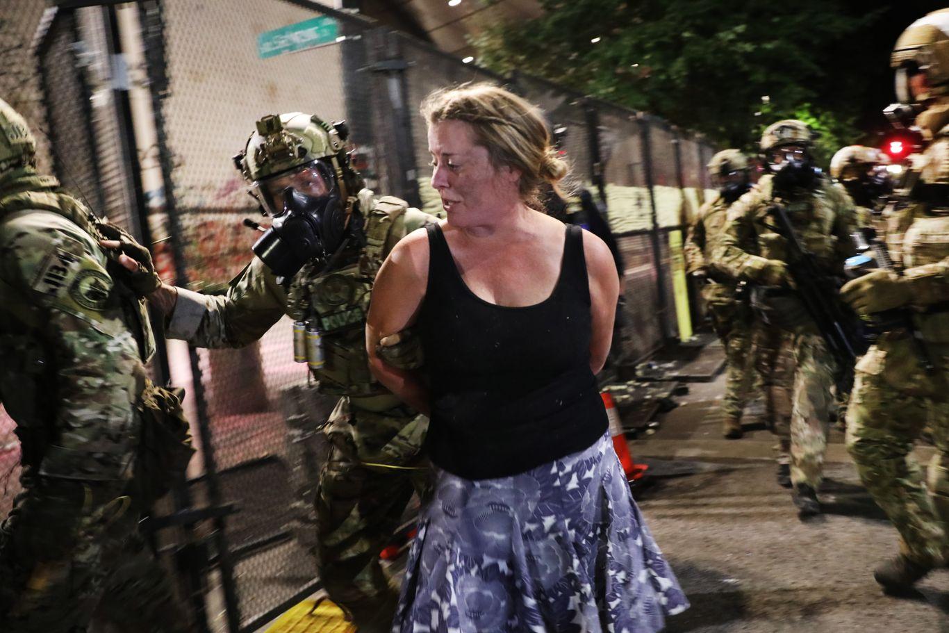 Mayors seek ban on militarized federal agents thumbnail