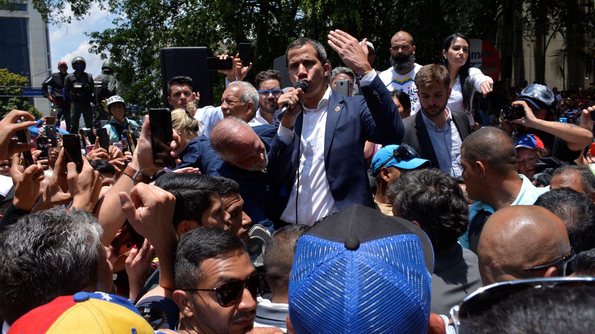 Opposition's gambit stalls after day of tumult rocks Venezuela