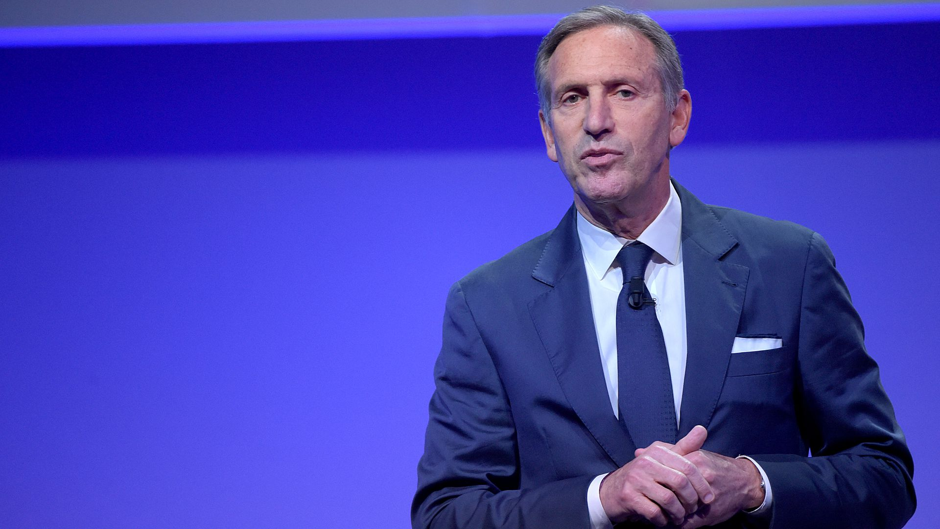 Howard Schultz, former Starbucks CEO.