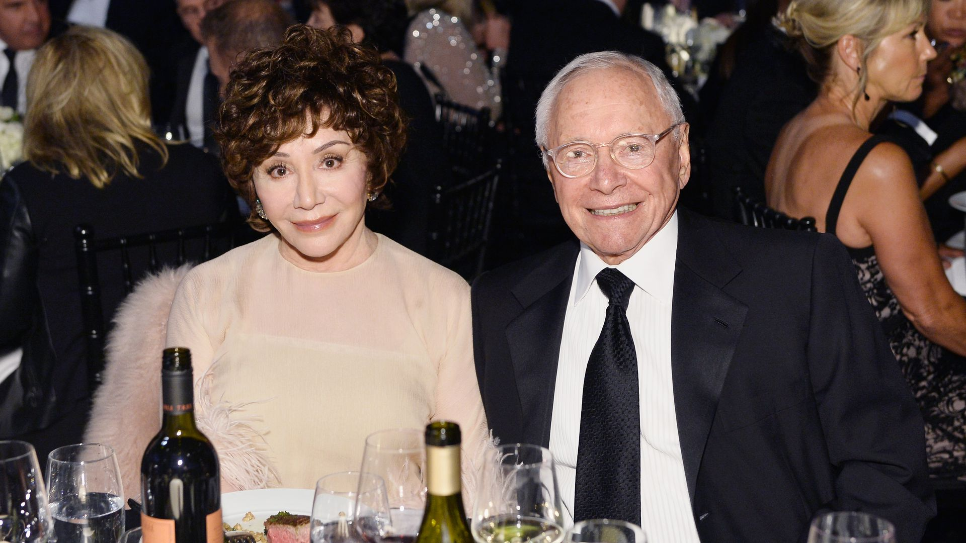 Lynda Resnick (L) and Stewart Resnick during American Film Institute's 45th Life Achievement Award Gala Tribute