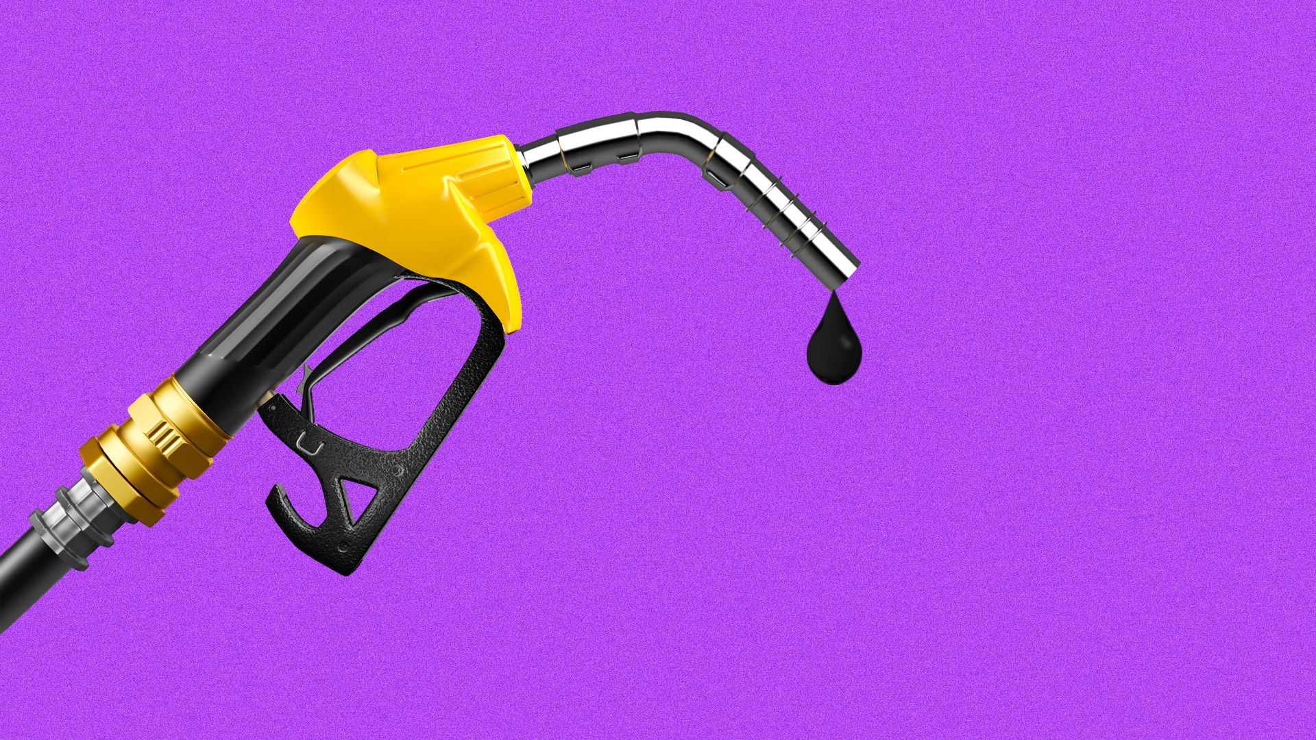 Gas nozzle dripping