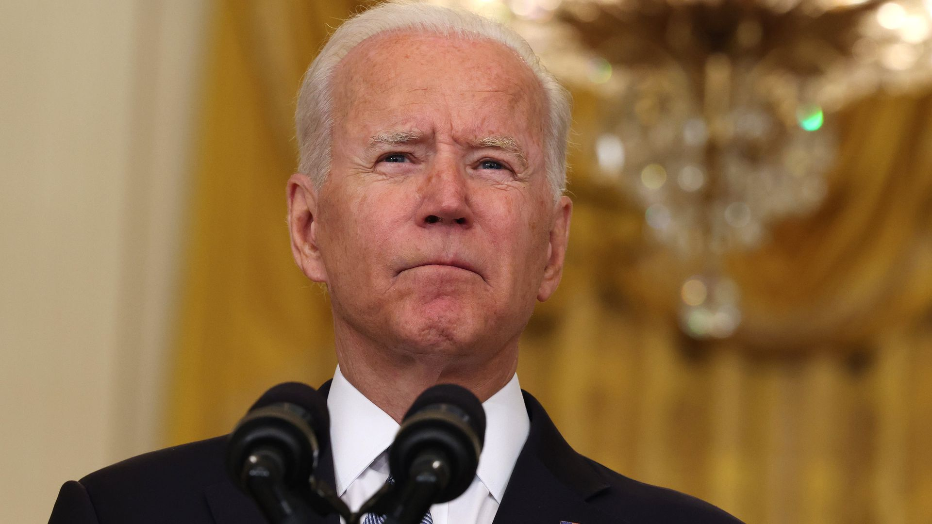 AXIOS – Biden's average approval rating drops below 50% for first time