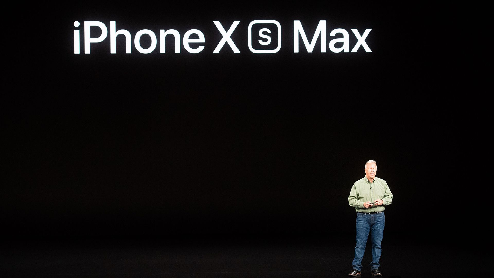 iPhone XS max event