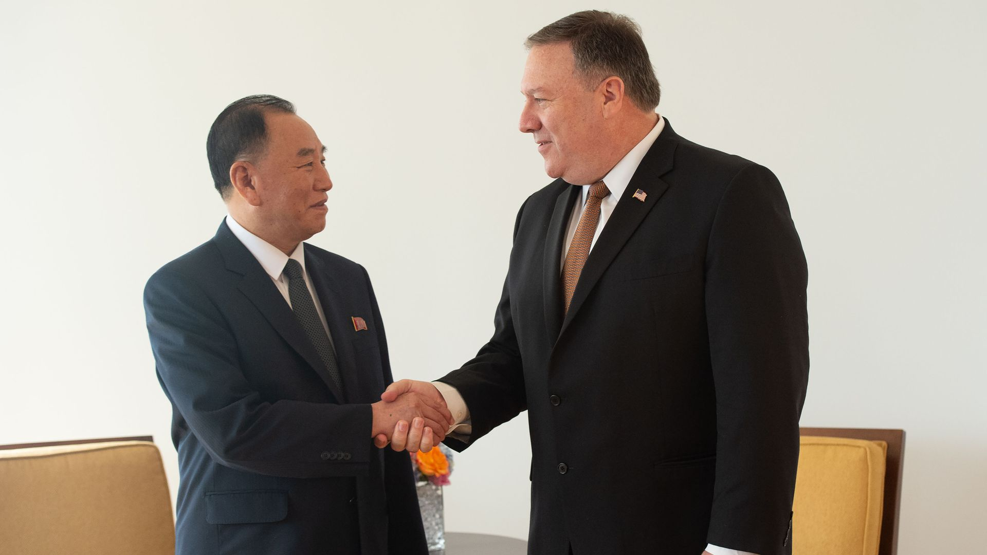 Mike Pompeo Expresses Optimism About Potential Trump Kim Summit Axios