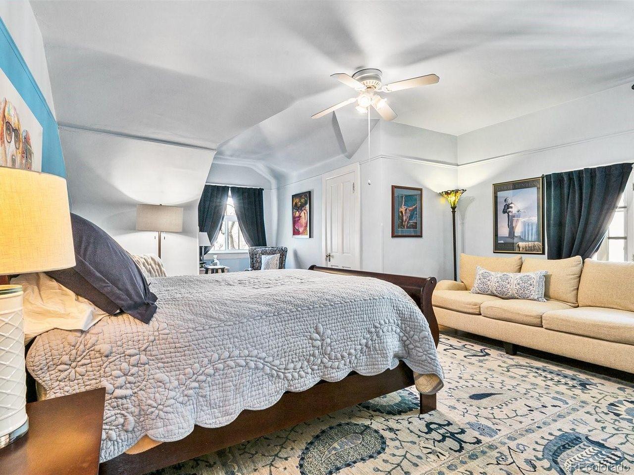 1350 N. Logan St bedroom